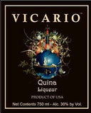 Vicario Liqueur Quina .750ML South Carolina