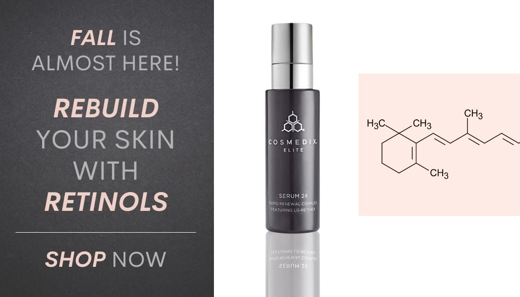 Skin Devotee Facial Studio Recommended Retinol Skincare Products For Your Fall Skincare Routine