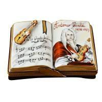 Music-Limoges Box Boutique Porcelain Gifts Hand-Painted