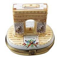 Paris France-Limoges Box Boutique Porcelain Gifts Hand-Painted