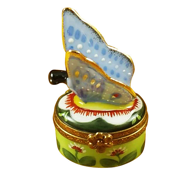Butterfly & Lady Bugs & Beetles Limoges Boxes