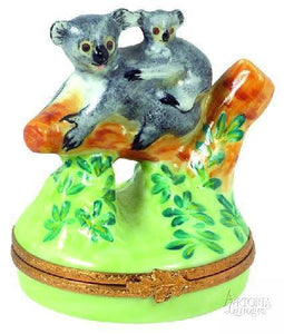 Bears Limoges Boxes-Limoges Box Boutique Porcelain Gifts Hand-Painted