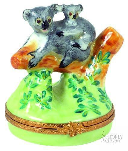 Bears Limoges Boxes Porcelain Figurines Gifts Keepsakes