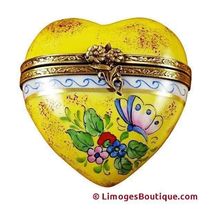 Hearts Limoges Boxes