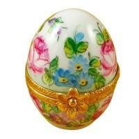 Egg Porcelain Figurine Limoges Boxes Hand-painted Collectors Gifts