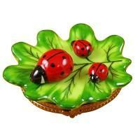 Lady Bugs, Spiders, & Critters Porcelain Figurines Limoges Boxes Keepsake Gifts