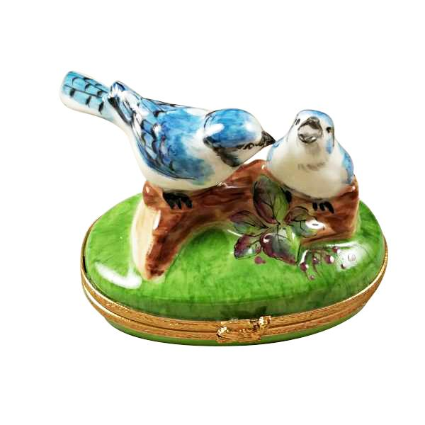 Blue Birds Limoges Box