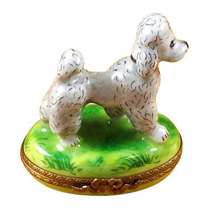 Gray Poodle Limoges Boxes Limoges Boxes Porcelain Figurines Collectibles Gifts