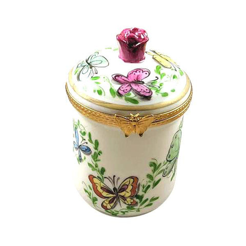 Butterfly Canister Limoges Box