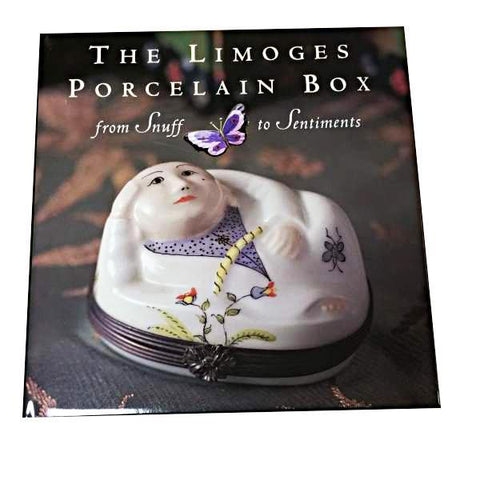 BOOK-THE LIMOGES PORCELAIN BOOK LIMOGES BOXES - Limoges Boxes Porcelain Figurines