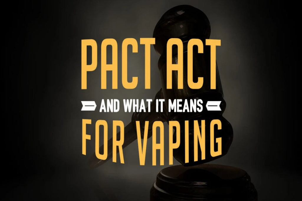 PACT Act Update (vape shipping ban)