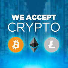 Now Accepting Crypto Payments!