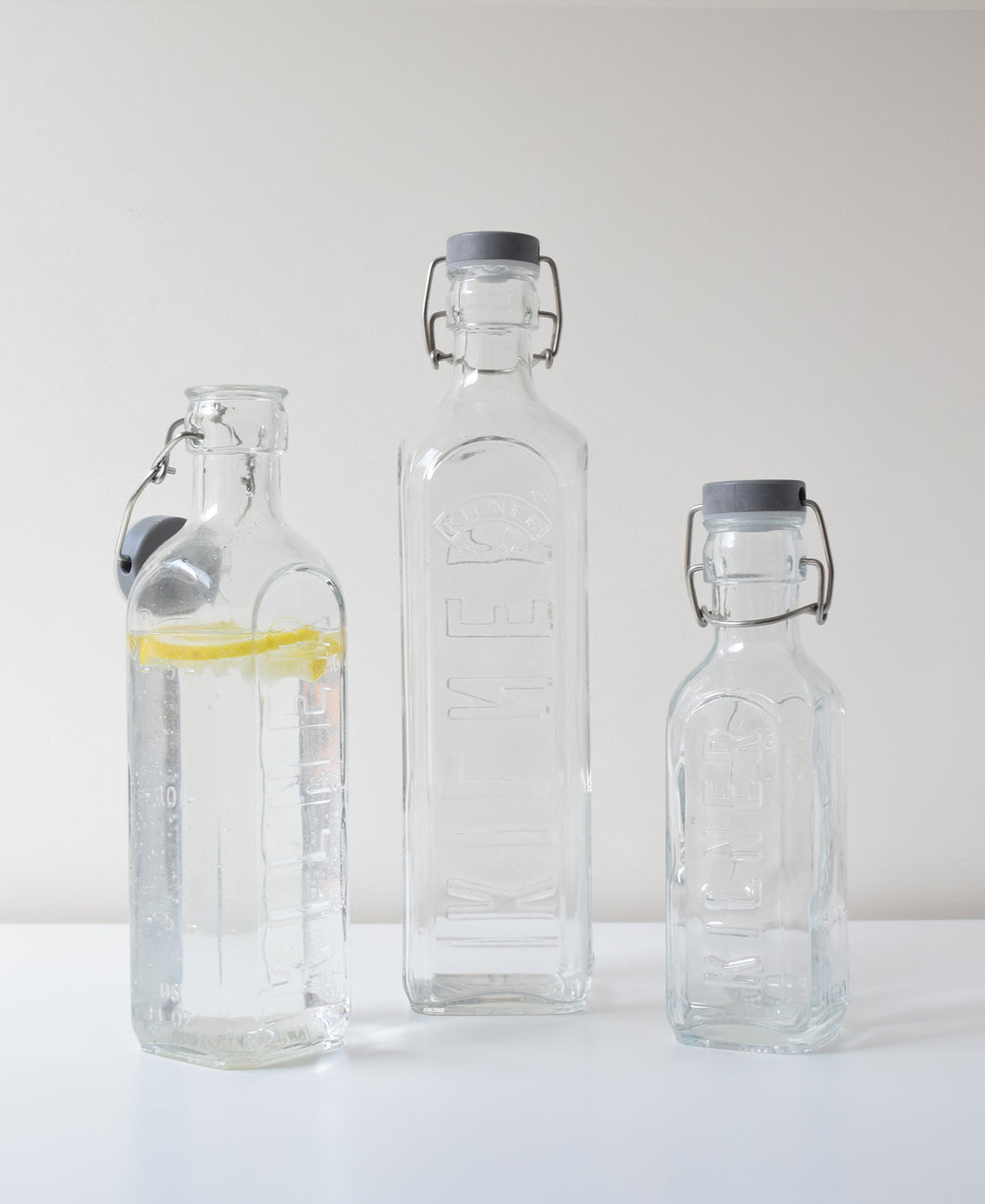 Kilner® Clip-Top Bottle Set Of 3 - Kilner US