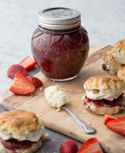 Load image into Gallery viewer, The Kilner® Strawberry Canning Jar Set of 6 are a fun and fashionable way to serve precious jams, chutneys and jelly.