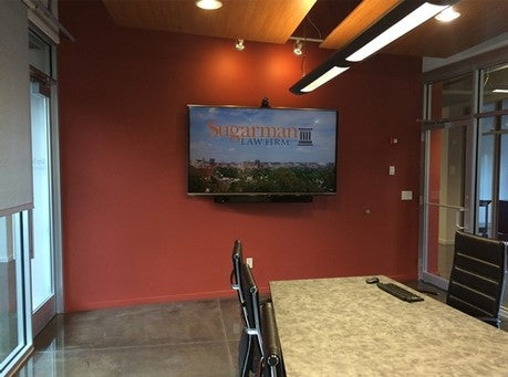 commercial video installation