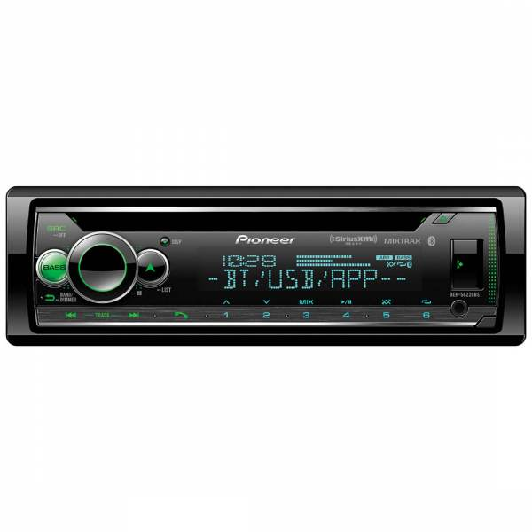 Pioneer DEH-S6220BS CD Receiver with Audio Functions And Smart Sync App Compatibility