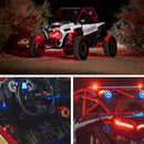 Ride Command® 3-Way Interface, 1500 watt, Front Color Optix™ Speaker, Subwoofer & Rear Speaker Kit for Select Polaris® RZR® Models (Gen-3)