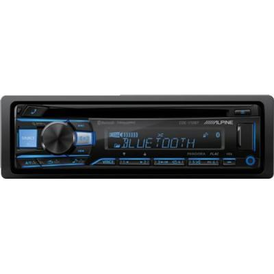 Alpine CDE-172BT 4-Channel Car Deck with Built-in Bluetooth - Installations Unlimited