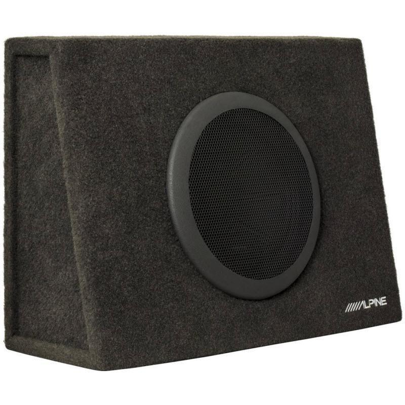 "Alpine SBT-S10V  Truck Enclosure with 10"" SWT Subwoofer - Installations Unlimited"