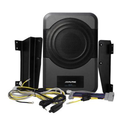 "Alpine PWE-S8-WRA Sealed Subwoofer Box with a 8"" Subwoofer - Installations Unlimited"