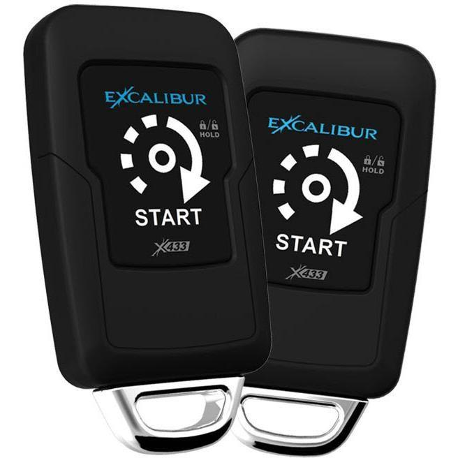 Excalibur RS-271 (Automatic w/ Push Button Ignition) + LINKR-LT2 - Installations Unlimited
