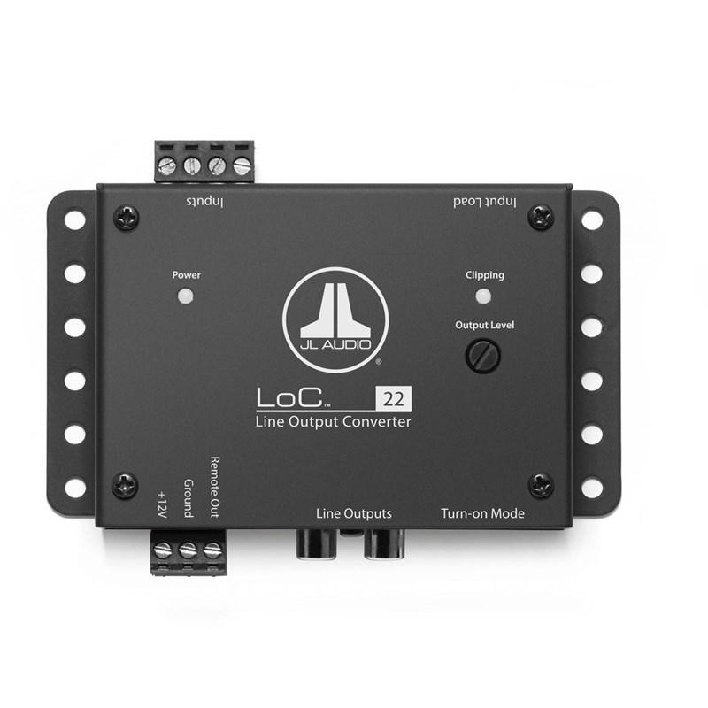JL Audio LoC-22 Audio Processor - Installations Unlimited