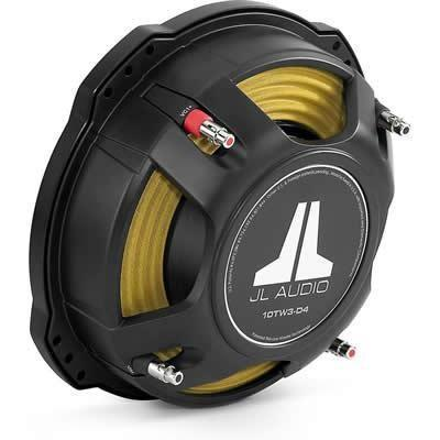 "JL Audio 400 watts 12"" Car Subwoofer (12TW3-D4) - Installations Unlimited"