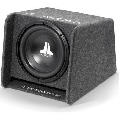 "JL Audio Vented Subwoofer Box with a 12"" Subwoofer (CP112-W0v3) - Installations Unlimited"