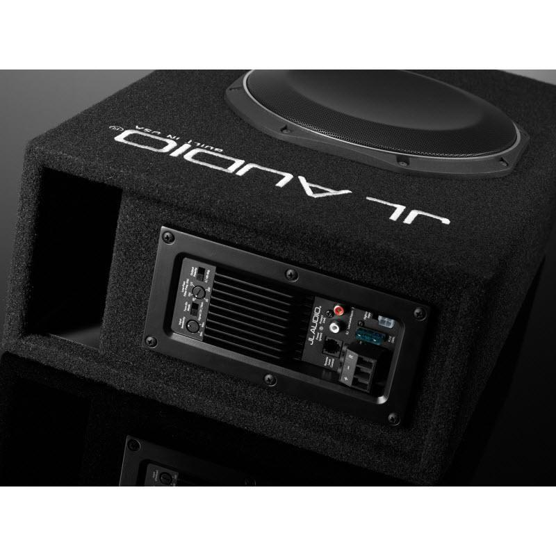 "JL Audio Vented Subwoofer Box with a 10"" Subwoofer (ACP110LG-TW1) - Installations Unlimited"