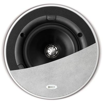 KEF Ci130QR In-Ceiling Speaker, White - Installations Unlimited