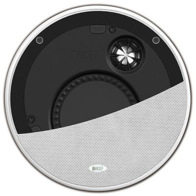 KEF Ci160TR In-Ceiling Speaker, White - Installations Unlimited