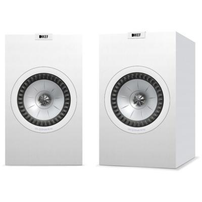 KEF Q350 (W) Bookshelf Speaker, Black - Installations Unlimited