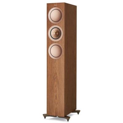 KEF R5 (Wnt) Floorstanding Speaker, Walnut - Installations Unlimited