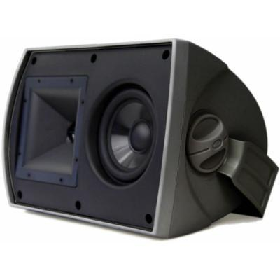 Klipsch AW-525 (B) 75-Watt Outdoor Speaker, Black - Installations Unlimited