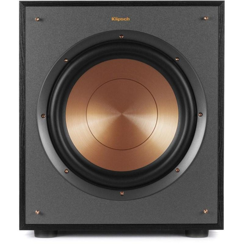 "Klipsch R-100SW 150-Watt 10"" Subwoofer, Black - Installations Unlimited"