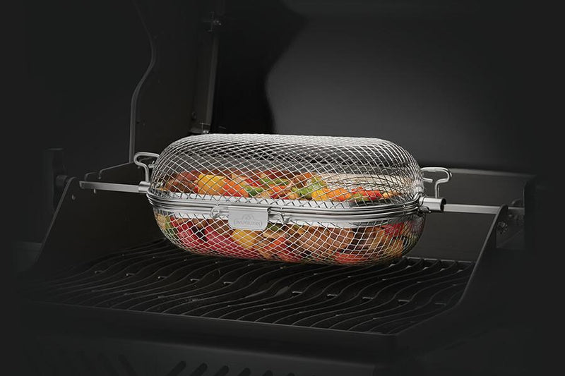 Napoleon Rotisserie Grill Basket - Installations Unlimited