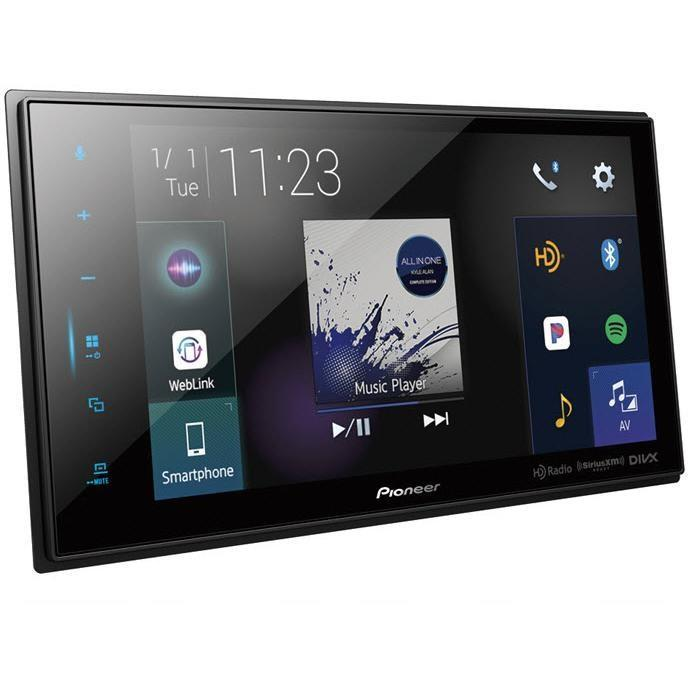 Pioneer DMH-C5500NEX 4-Channel Video Deck with Built-in Bluetooth - Installations Unlimited