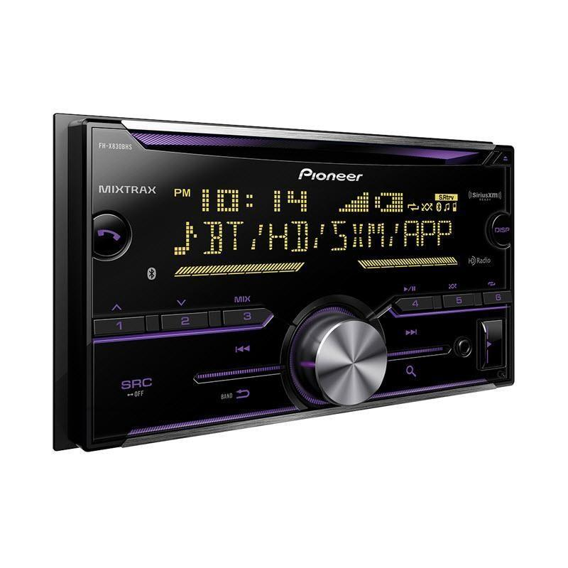 Pioneer FH-X830BHS 4-Channel Car Deck with Built-in Bluetooth - Installations Unlimited