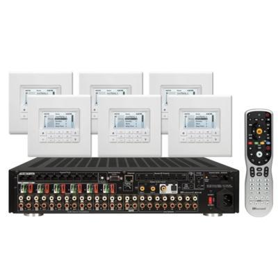 Russound KT2-88 Controller Amplifier System Kit with MDK-C6 - Installations Unlimited