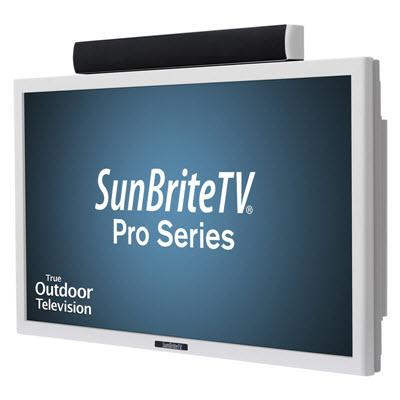 "SunbriteTV SB-4217HD (W) - 42"" Pro Series Direct Sun Outdoor Patio TV - Installations Unlimited"