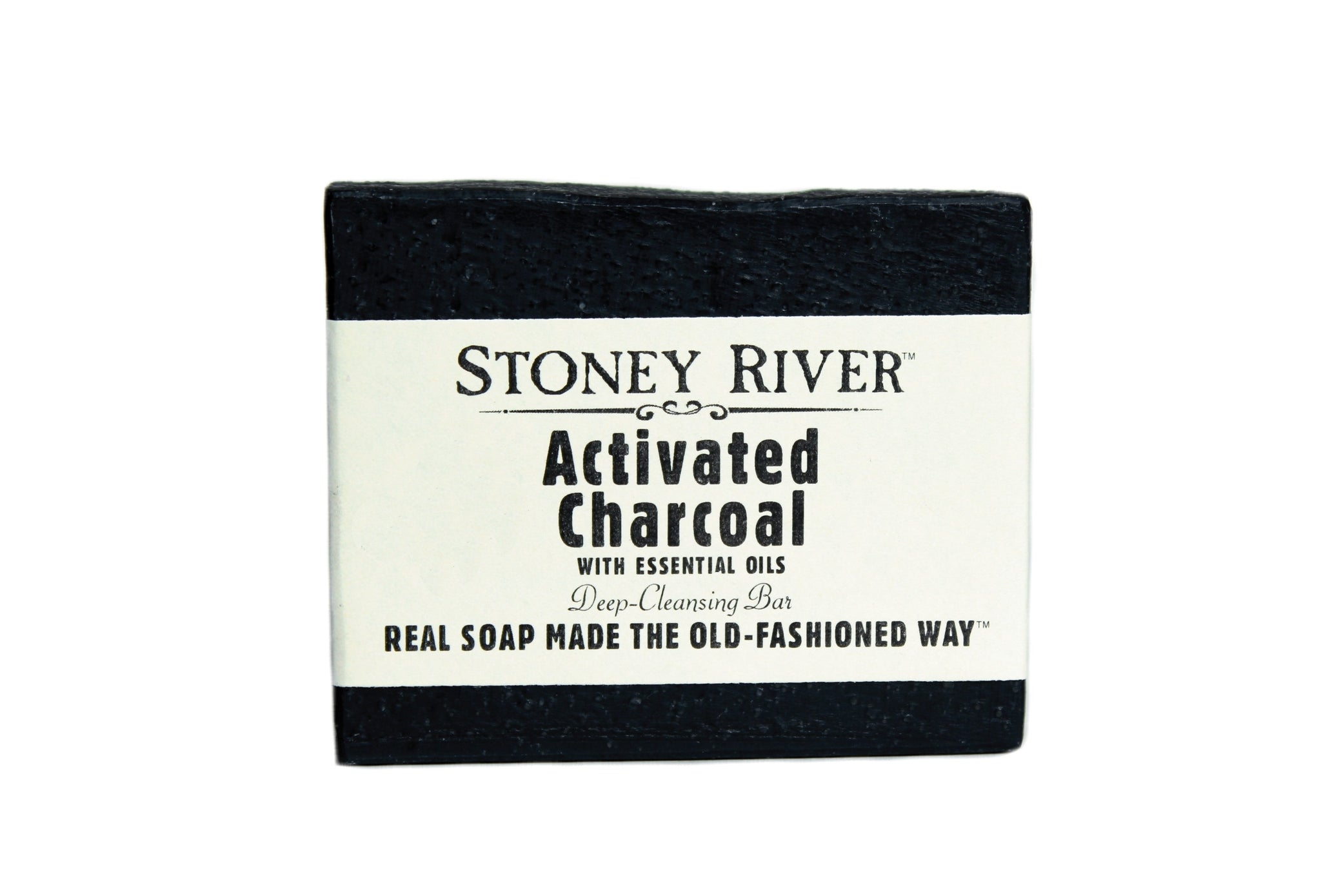Activated Charcoal Soap - scented