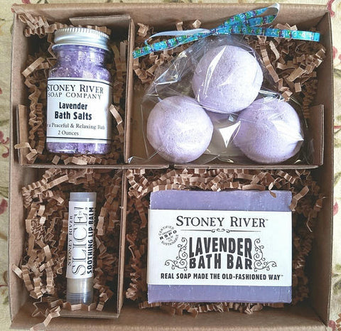 SPA GIFT SET, gift box,birthday gift, for mom, bridesmaid,girlfriend,  bath bombs, natural soap, lip balm,salt, natural bath