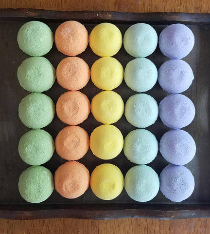 50-Bath Bombs, fizzy shower bombs