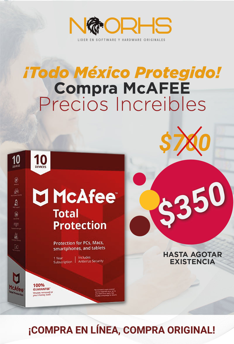 McAfee Total Protection 10 dispositivos