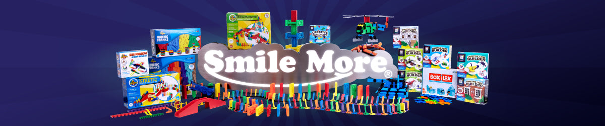 Smile More Toys banner