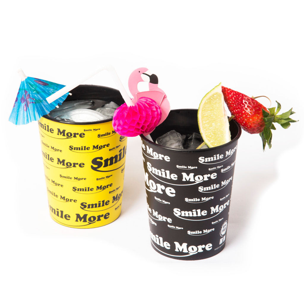 Smile More Party Cups - 16oz