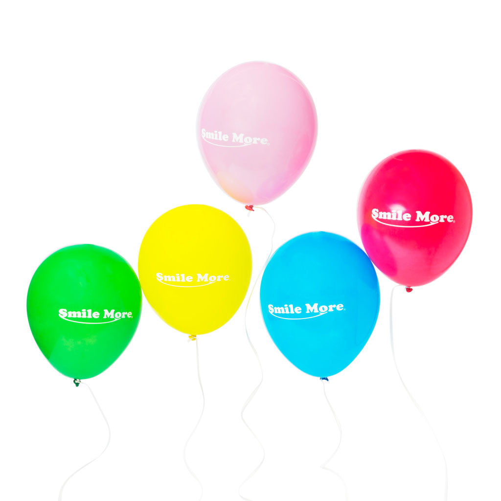 Smile More Party Balloons