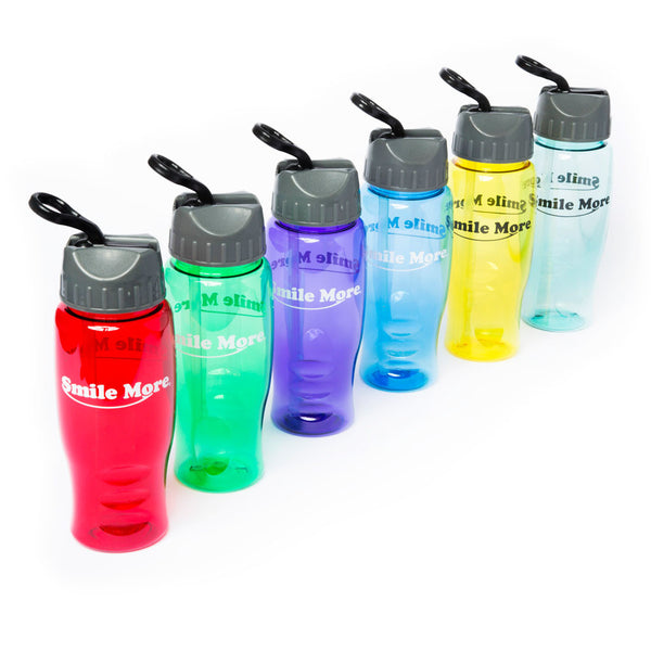 Translucent Water Bottles - 27oz