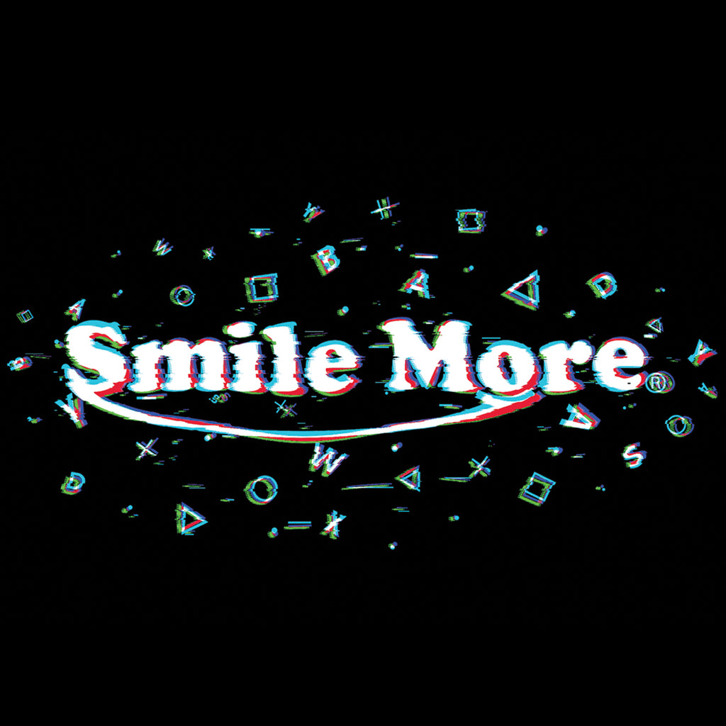 Smile More Glitch T-Shirt (All Sizes)
