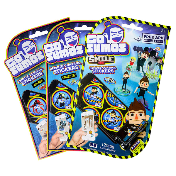 Go Sumos - Remote Control Stickers